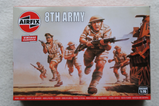 Airfix 1/72 AX00709V British 8th Army Infantry (WW2)